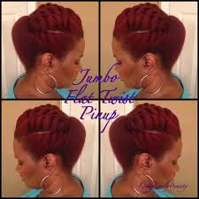 How To Do Flat Twist Hairstyles by Video Tutorial 5 Flat Twist Pompadour Pin Up Global Couture Blog