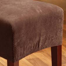 Sure Fit Stretch Pique Shorty Dining Room Chair Slipcover 100 Sure Fit Stretch Pique Shorty Dining Room Chair Slipcover