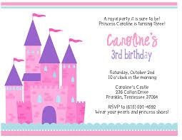 Printable Birthday Party Invitation Cards Princess Birthday Invitations Templates Invitations Ideas