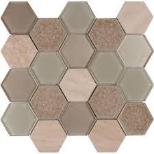 ms international monterra blend hexagon 12 in x 12 in x 8 mm