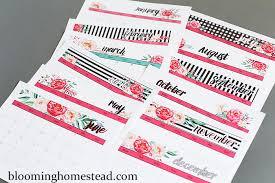 free printable planner calendar 2016 2016 free printable calendars lolly jane