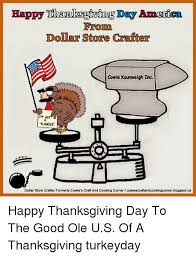 happy thanksgiving day anerica froorma dollar store crafter cowie
