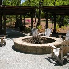 architecture interior furniture fossill stone round fire pit kit