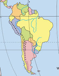 South And North America Map by Mr Shen U0027s History Class North And South America Maps