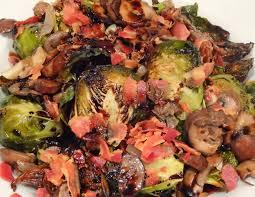 ina garten brussel sprouts pancetta test 87 roasted brussel sprouts with sauteed mushrooms pancetta