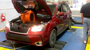 red subaru forester 2016 2014 forester xt baseline dyno youtube