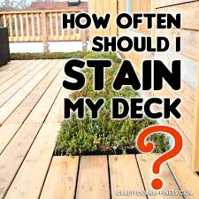 what of stain should i use on my kitchen cabinets how often should i stain my deck