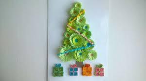 how to make a beautiful christmas card diy crafts tutorial
