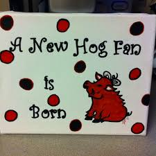 gifts for razorback fans great baby shower gift for a razorback fan by cathy vickers c