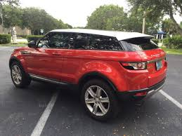 land rover red range rover evoque red wrap inked vinyl