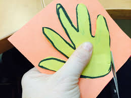 handprint chinese dragon puppet learn with miaomiao