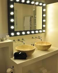 Backlit Mirrors For Bathrooms Backlit Bathroom Mirror Bathroom Mirrors With Lights Behind