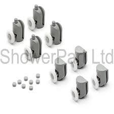 part ref tc gdwv t415 set of 8 single shower door shower