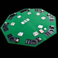 Octagon Poker Table Plans Portable Poker Table Topper Home Table Decoration
