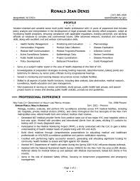 Public Health Resume Sample by Sample Public Health Resume Resume For Your Job Application