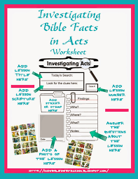 bible fun for kids ifa investigating bible facts in acts supplies