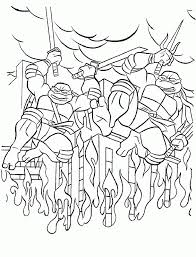 teenage mutant ninja turtles coloring pages kids backgrounds