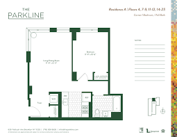 floor plan for daycare the parkline