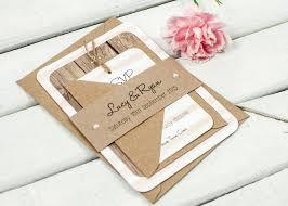 wooden nautical stripe wedding invitation bundle norma u0026dorothy
