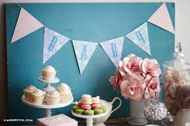 baby shower banners printable baby shower banner lia griffith