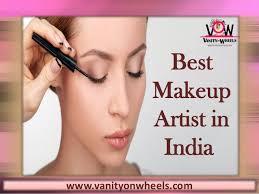 makeup artist in best makeup artist in india vanity on wheels