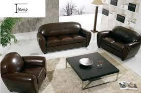 ensemble canape cuir ensemble canapé cuir 2 1 canapé 2 places 1 fauteuil