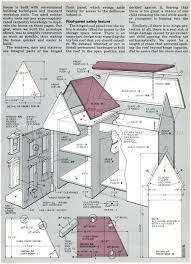 Chalet Plans by Doll House Plans Amazoncom Plan Toy Chalet Doll House With