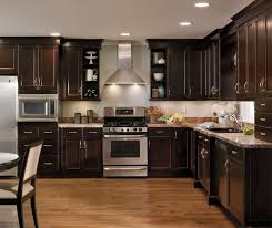 White Knotty Alder Cabinets Knotty Alder Cabinets Kitchen With Center Island Kitchen With