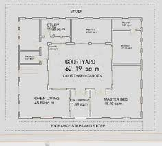 style house plans with interior courtyard 26 best house plans images on blueprints for homes