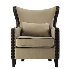 Beige Club Chair Beige Chairs Living Room Furniture The Home Depot