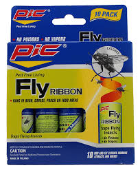 pic fr10b sticky fly ribbons 10 pack home pest