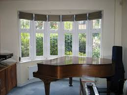 Pictures Of Window Blinds And Curtains Best 25 Bay Window Curtains Ideas On Pinterest Bay Window