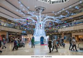 Christmas Decorations Shop Westfield by Christmas Decorations Shopping Centre Stock Photos U0026 Christmas