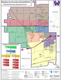 Map Of Des Moines Iowa Waukee Community District New District Boundary Map For