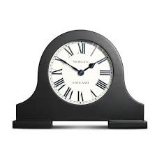 clocks curved wood mantel clocks for cozy home decoration ideas