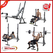 Weight Bench Olympic Golds Home Gym Equipment Olympic Weight Bench Fitness Workout