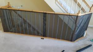 Building A Banister Railing Diy Baby Proof Banister Railing Youtube