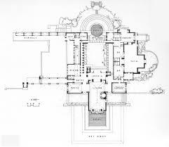Kentuck Knob Floor Plan Hollyhock House Floor Plan Hollyhock House Frank Lloyd Wright
