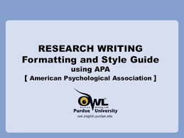example of apa paper format research writing apa references style