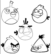 print u0026 download angry bird coloring long