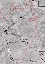 Map Of Colorado And Utah by Moab Mountain Biking Trails Moab Mountain Bike Trail Information