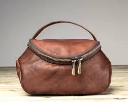 Vanity Bags For Ladies Leather Cosmetic Bag Etsy