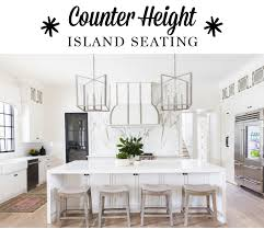counter height kitchen island counter height island seating blanton interiors