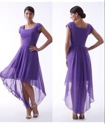 compare prices on purple bridesmaid dresses high low online