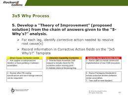 3 legged u201c5 why u201d root cause analysis ppt video online download