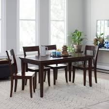 Espresso Dining Room Set by Espresso Dining Tables On Hayneedle Espresso Round Dining Table