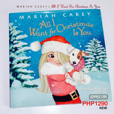all i want for christmas is you 2015 picture book