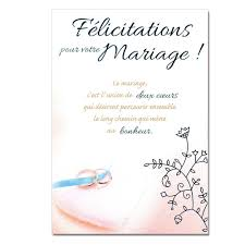 carte voeux mariage une carte pour toi - Mot Carte Mariage