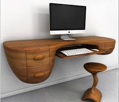 laptop desk for small spaces desk beautiful decor on home office computer furniture dark wood
