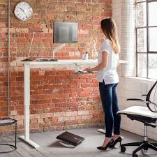 sit stand desk leg kit float height adjustable sit stand table